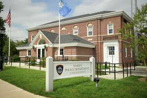 The Darien Police Department at 25 Hecker Avenue in Darien, Conn on Tuesday, September 3, 2013.