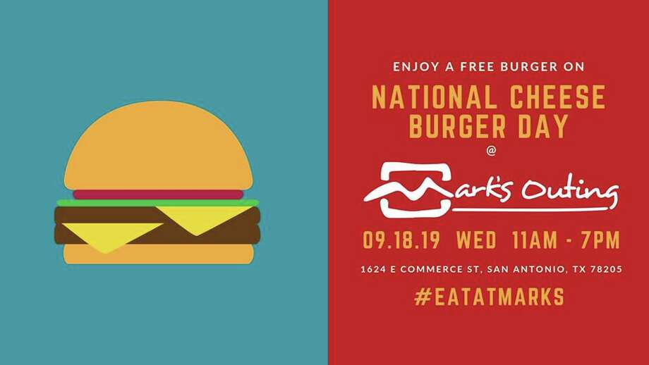 Mark's Outing is giving away 1,000 free burgers for National Cheeseburger Day. Photo: Mark's Outing