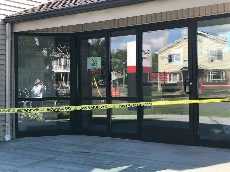 Troy police are investigating a robbery that occurred Wednesday morning at the KeyBank branch at 820 Second Ave.