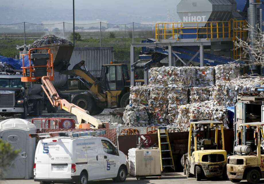 FILE - The Newby Island Resource Recovery Park near the Newby Island Landfill is seen in Milpitas, Calif., on Tuesday, March 12, 2019. The state Air Resources Board is doing a study of odors in the area. Photo: MediaNews Group/The Mercury News/MediaNews Group Via Getty Images