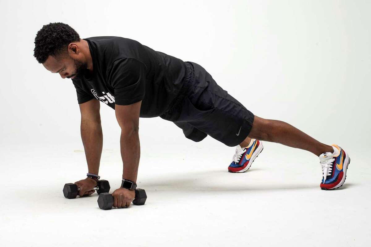 Push-Up with Rotation. Step 2.