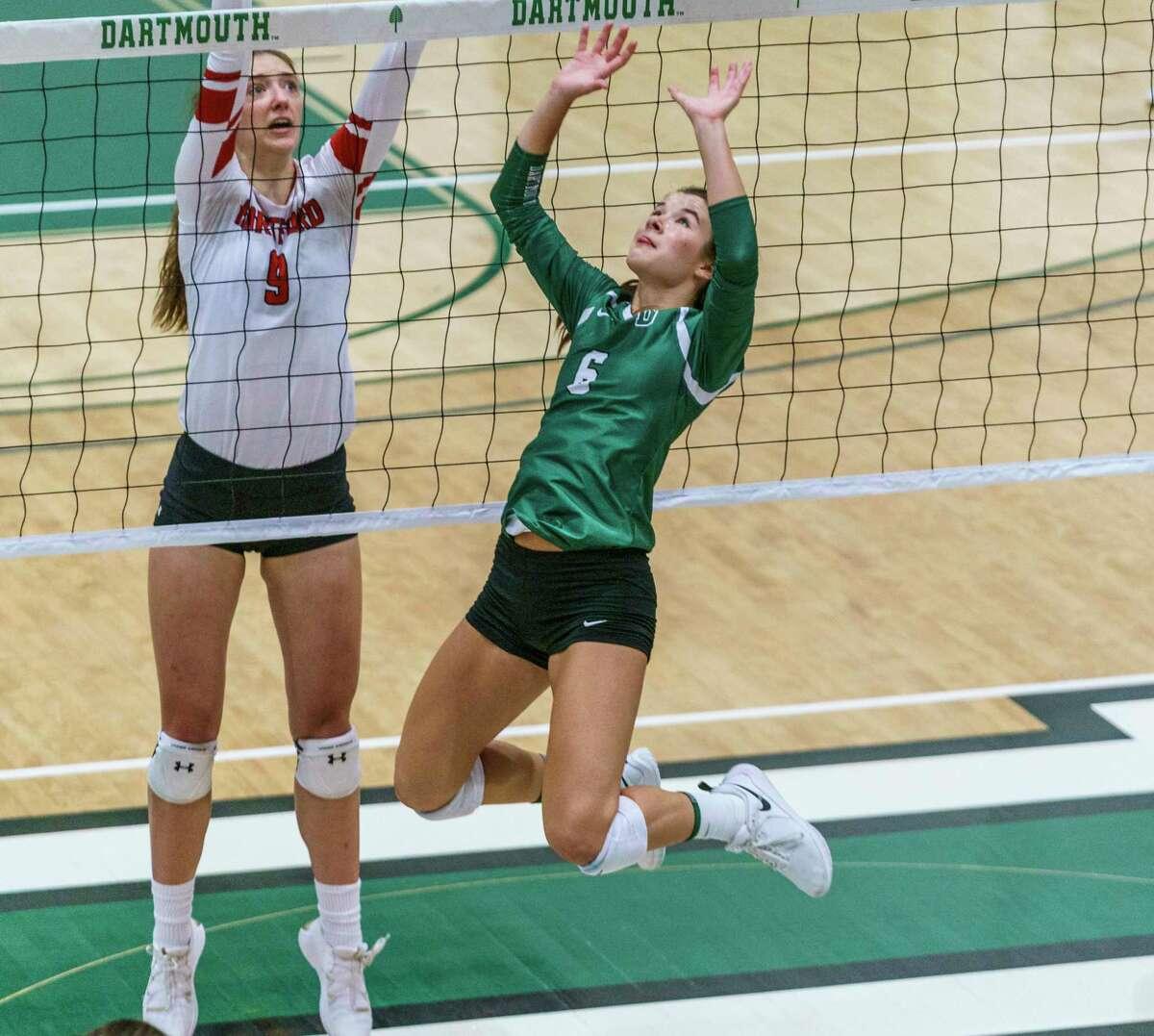 Dartmouth volleyball player Kenzie Arent.