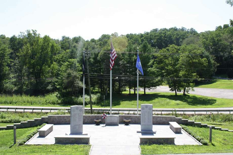 Warren Veterans Committee will have a dedication ceremony at 3 p.m. Sept. 22, at the memorial site on Cemetery Road to celebrate and recognize those veterans who served in the military from the Town of Warren. A reception will follow at the Parish Hall of the Warren Congregational Church, 4 Sackett Hill Road.  The dedication will take place rain or shine; if rain is heavy, it will be held indoors. The public is invited to attend. Photo: Contributed Photo