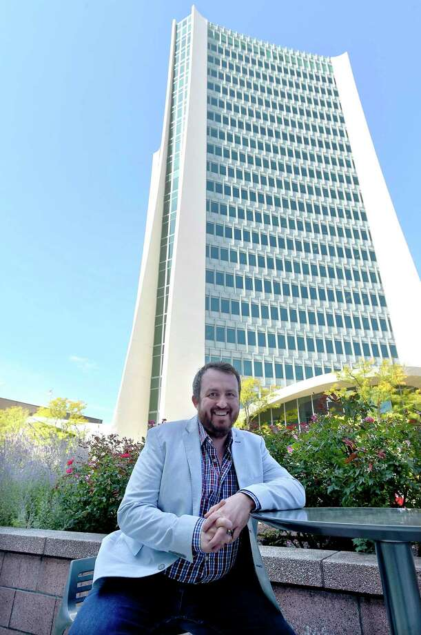 Jonathan Winkel, founder of Stamford Innovation Week, has been named executive director of the nonprofit Stamford Partnership. Photo: Matthew Brown / Hearst Connecticut Media / Stamford Advocate