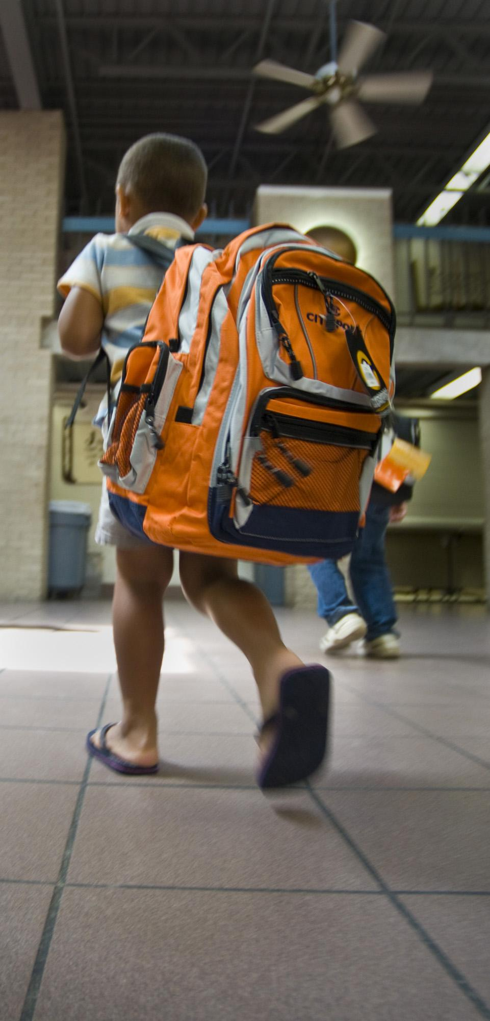 Is your child's backpack to heavy?