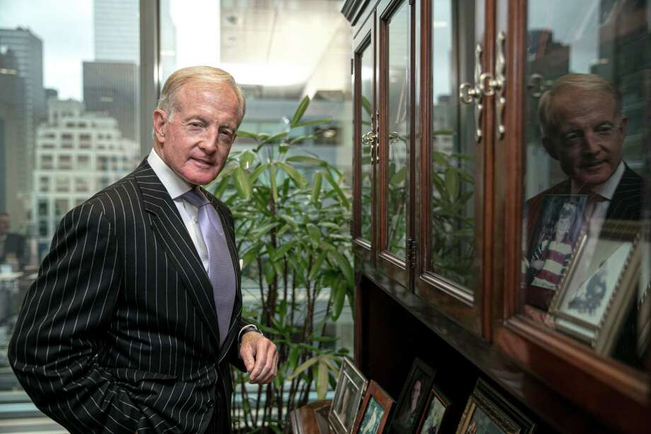 William Brewer at his office in New York on Sept. 12, 2019. Photo: Photo For The Washington Post By Jeenah Moon / Jeenah Moon