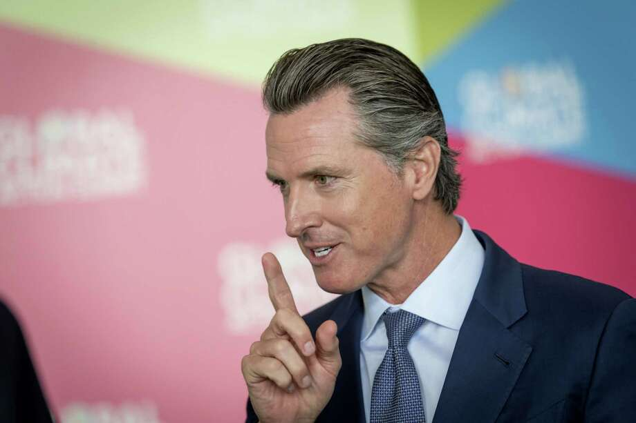 Gavin Newsom during the Global Climate Action Summit in San Francisco on Sept. 13, 2018, before he was elected governor of California. Photo: Bloomberg Photo By David Paul Morris. / © 2018 Bloomberg Finance LP