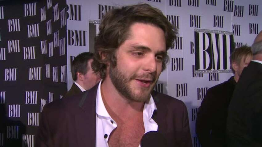 INTERVIEW: Thomas Rhett on BMI, on Tom Hall, on the momentum of country music. at 60th Annual BMI Country Awards on 10/30/2012 in Nashville, TN.(Footage by WireImage Video/Getty Images Entertainment Video)