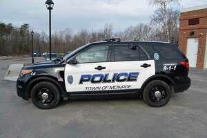 Monroe, Conn., police cruiser file photo.