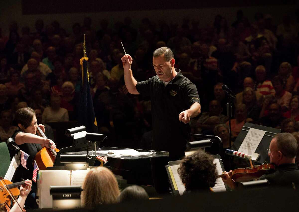 Dr. Jacob Sustaita, new Music Director and Conductor for the Conroe Symphony Orchestra, will kick off the 2019-20 performance season with 'Masquerade Ball' on Saturday, Oct. 19, at Conroe High School.
