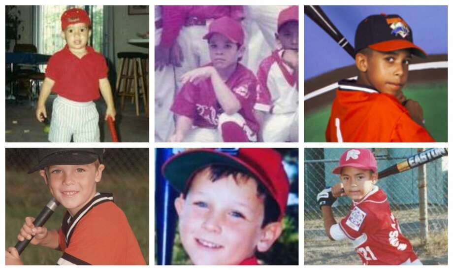 PHOTOS: Astros players when they were kids We pulled photos of Astros players when they were just aspiring ballplayers.  See if you can pick out each Astros player just by looking at their childhood photos ... Photo: Courtesy Photos