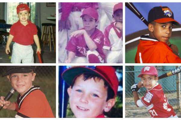 A look at 2019 Houston Astros players when they were kids.