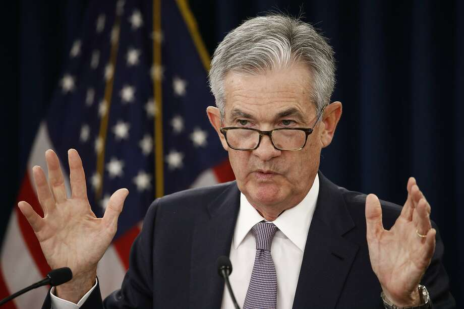 Federal Reserve Chairman Jerome Powell discusses the central bank's action reducing a key interest rate by a quarter of a point. Photo: Patrick Semansky / Associated Press