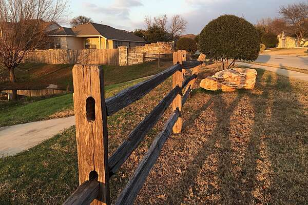 Fence in Round Rock