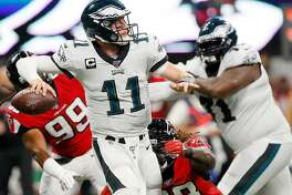 Insiders predict: Philadelphia Eagles - Favored to win: Philadelphia Eagles - Spread: -6.5 - Odds: -300 - Detroit Lions team stats: - Offense: 408.0 yards per game (#8 in the league) --- Passing offense: 303.0 ypg (#6) --- Rushing offense: 105.0 ypg (#16) - Defense: 405.5 yards per game (#27 in the league) --- Passing defense: 281 ypg (#24) --- Rushing defense: 124.5 ypg (#21) - Philadelphia Eagles team stats: - Offense: 361.0 yards per game (#14 in the league) --- Passing offense: 275.0 ypg (#12) --- Rushing offense: 86.0 ypg (#22) - Defense: 382.5 yards per game (#22 in the league) --- Passing defense: 340 ypg (#31) --- Rushing defense: 42.5 ypg (#3) This slideshow was first published on theStacker.com