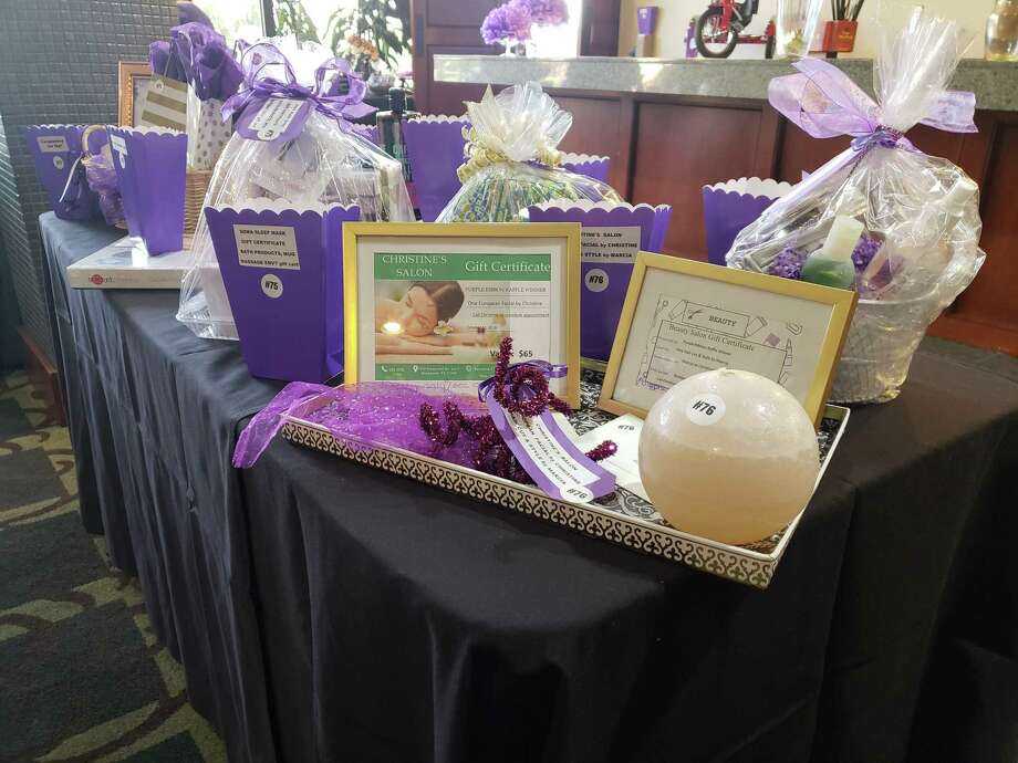 Family Time Crisis and Counseling Center will hold the 8th annual Purple Ribbon Luncheon on Oct. 11 at 10:30 a.m. at the Kingwood Country Club to help raise funds to build a new shelter. Photo: Kaila Contreras