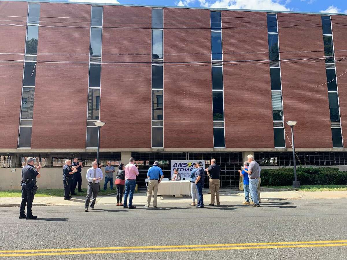 Work to refurbish the former Farrel Corporation headquarters into the new Ansonia Police Station on Main Street will begin in mid-October and take at least a year to complete.