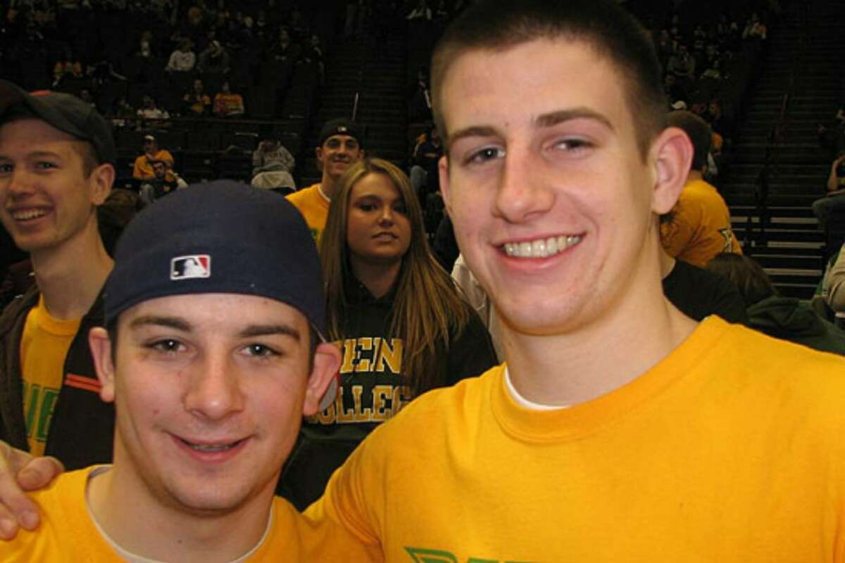 Were you seen at 2008 MAAC Tournament Siena vs. Rider?