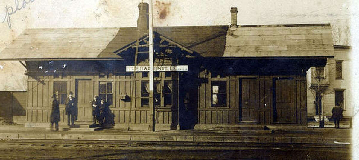 The Nickel Plate Station as it appeared in 1900. The station was built in 1883 and used by passengers until 1959.
