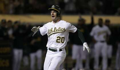 A's Mark Canha says KC pitcher sent apologetic text after hitting him