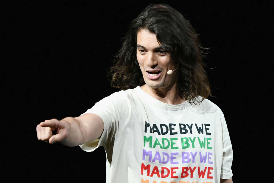 Adam Neumann speaks onstage during WeWork Presents Second Annual Creator Global Finals at Microsoft Theater on January 9, 2019 in Los Angeles, California. Photo: Michael Kovac/Getty Images For WeWork / 2019 Michael Kovac