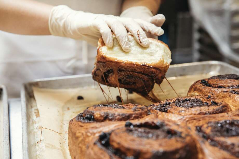Sea Wolf Bakery is catching fame for their cinnamon rolls. Keep clicking for all the drool-worthy favorites from some of Seattle's busiest bakeries. Photo: Charity Burggraaf