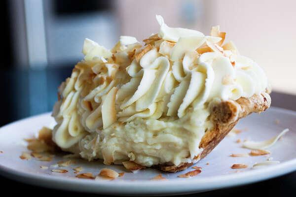 Dahlia Bakery--Downtown (triple coconut cream pie, everything blondie, peanut sandwich cookie, birthday cookie)