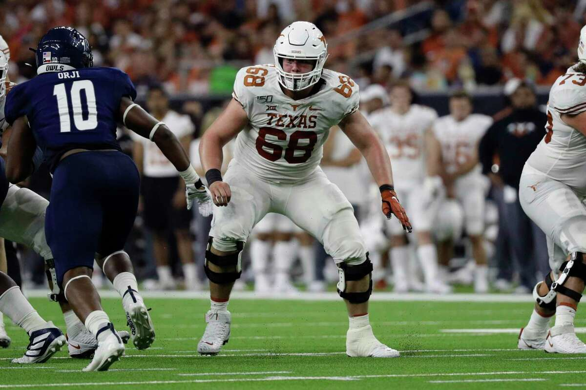 Over the past four seasons, Texas senior Derek Kerstetter has made starts at right tackle, right guard and center. He's now entrenched in the middle of the Longhorns' offensive line.