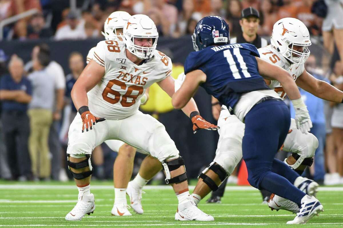 Right tackle Derek Kerstetter is expected to be back starting on a Texas offensive line that has its share of question marks entering the fall.