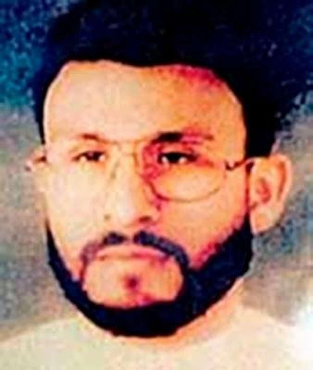 This photo provided by U.S. Central Command, shows Abu Zubaydah, date and location unknown. (AP Photo/U.S. Central Command)