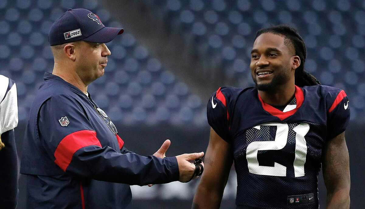 What the Texans do with veteran cornerback Bradley Roby will be a key domino in coach/GM Bill O'Brien's offseason plans to upgrade the secondary.