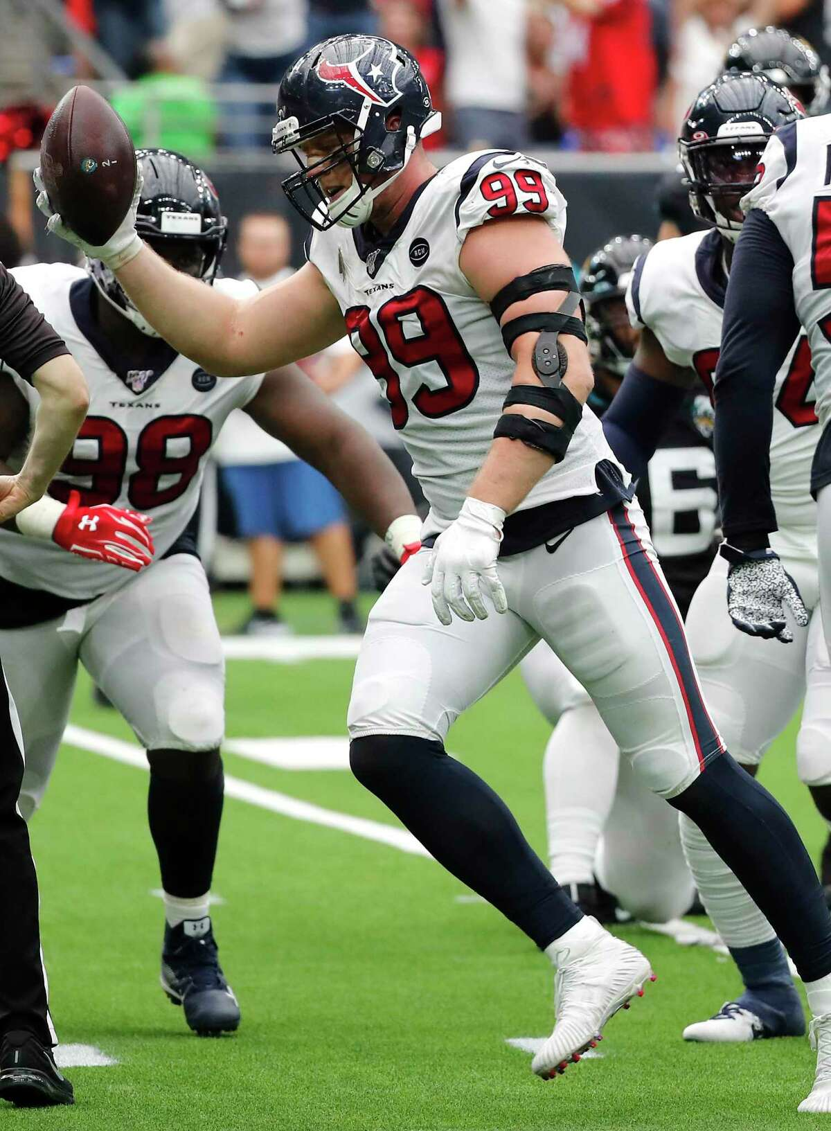 J.J. Watt said it will be a 'very surreal' moment and 'nerve-wracking' for their mom.