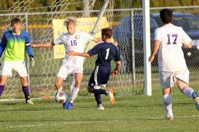 The Bad Axe boys soccer team roughed up the Caro Tigers Wednesday, coming away with a 8-0 victory.