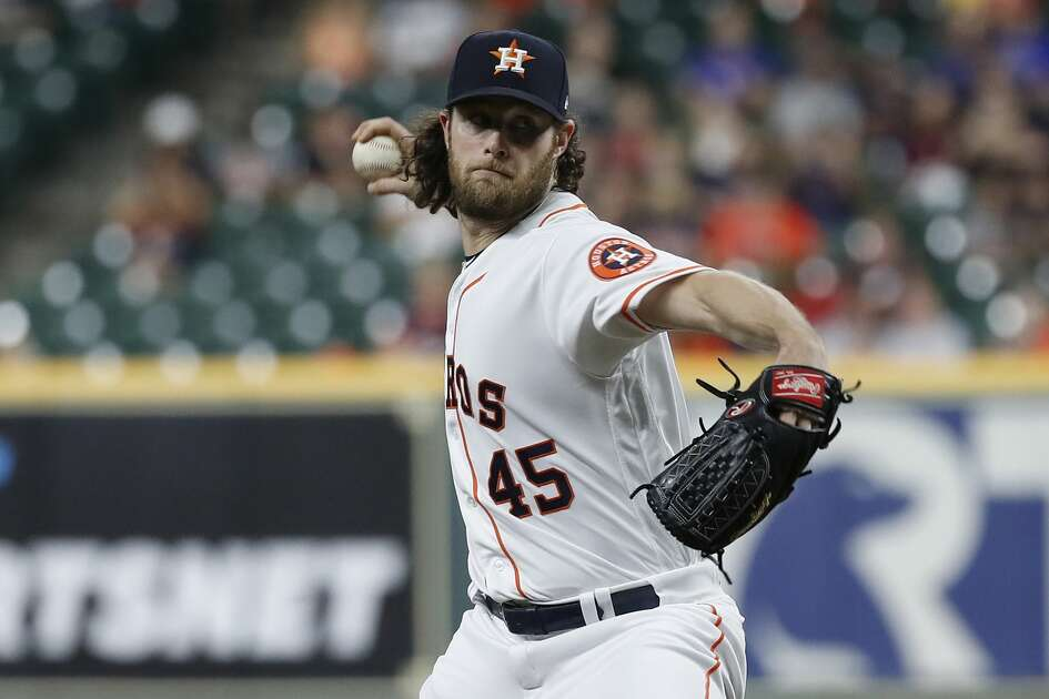 Gerrit Cole became the first Astros pitcher to record 300 strikeouts in a season since Mike Scott in 1986 while also winning his 14th consecutive decision in Wednesday's victory over the Rangers.