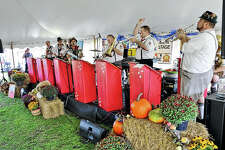 Heidelberg German Band of Chicago performs during Jacksonville Rotary Club's Oktoberfest. The band, a staple for the Rotary fundraiser, will return again this year for sets throughout the afternoon.