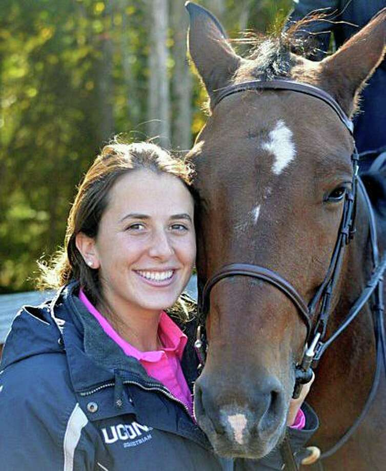 "Funeral services have been set for Samantha Calzone, who died in a horsing accident on Monday, Sept. 16, 2019 in Dover, N.Y. New York State Police said the accident happened around 10:45 a.m. at a family farm on Byrds Hill Road. The investigation determined ""the horse reared for an unknown reason, and fell on top of the rider."" According to her death notice, ""Samantha Marie Pritchard Calzone passed away doing what she loved most in this life: riding horses."" Photo: Contributed Photo"