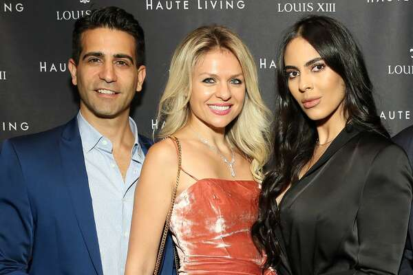 NEW YORK, NEW YORK - SEPTEMBER 18: Kamal Hotchandi and Deyvanshi Masrani attend as Haute Living and Louis XIII celebrate Tilman Fertitta cover and book release on September 18, 2019 in New York City. (Photo by Monica Schipper/Getty Images for Haute Living )