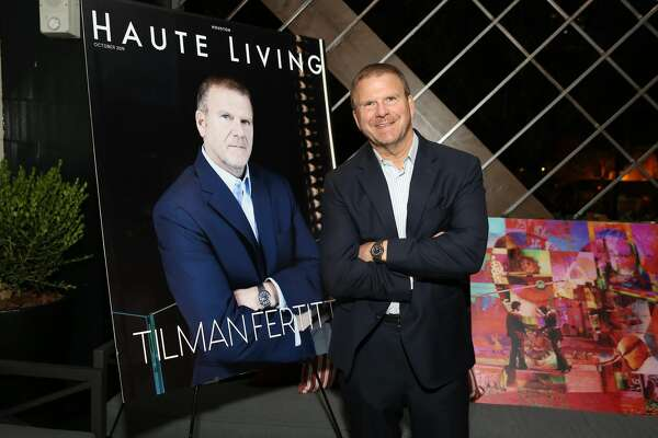 NEW YORK, NEW YORK - SEPTEMBER 18: Tilman Fertitta attends as Haute Living and Louis XIII celebrate Tilman Fertitta cover and book release on September 18, 2019 in New York City. (Photo by Monica Schipper/Getty Images for Haute Living )