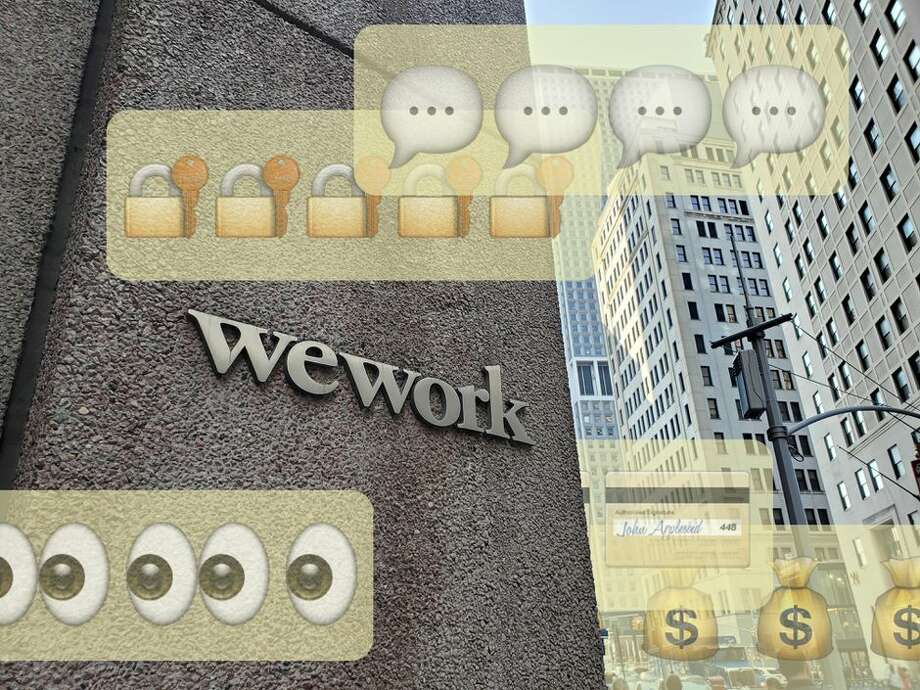 WeWork's open Wi-Fi network has left sensitive files and emails exposed to anyone who is on the same network without a VPN. Photo: Alfred Ng / CNET