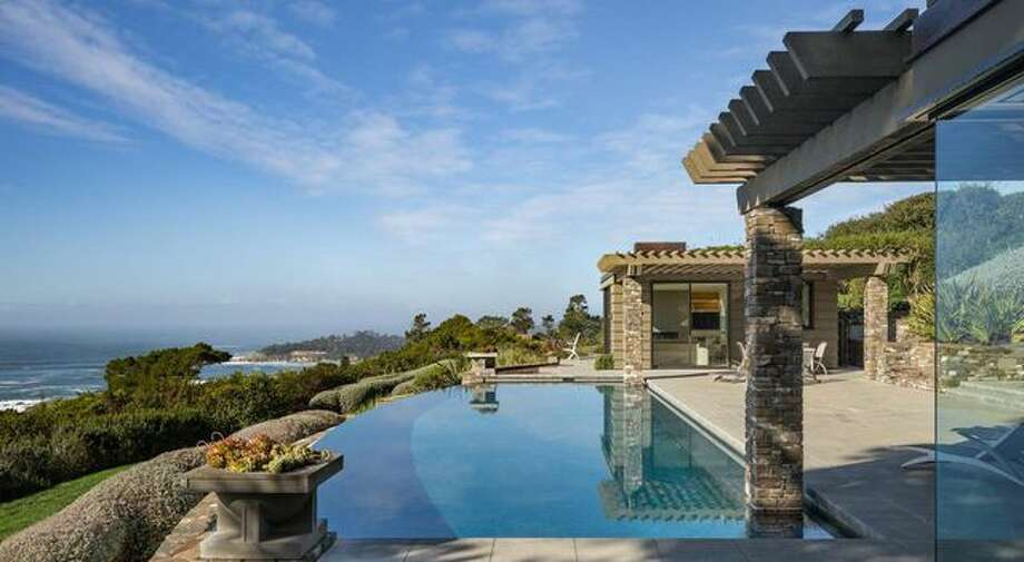Jim Crane's Pebble Beach home first arrived on the market two years ago for $37.9M. The price was eventually slashed to $29.9M, but no buyer stepped up. Photo: Realtor.com