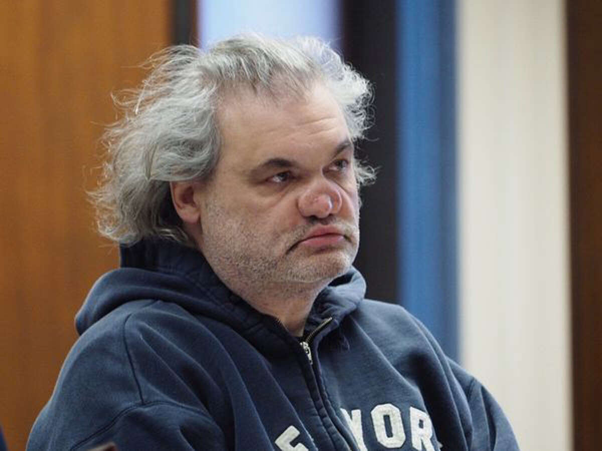 Artie Lange during a December 2018 court appearance. (Associated Press photo.)