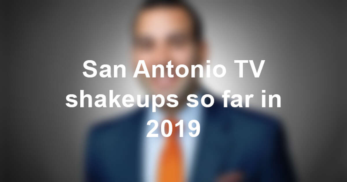 See the comings and goings off San Antonio TV so far in 2019