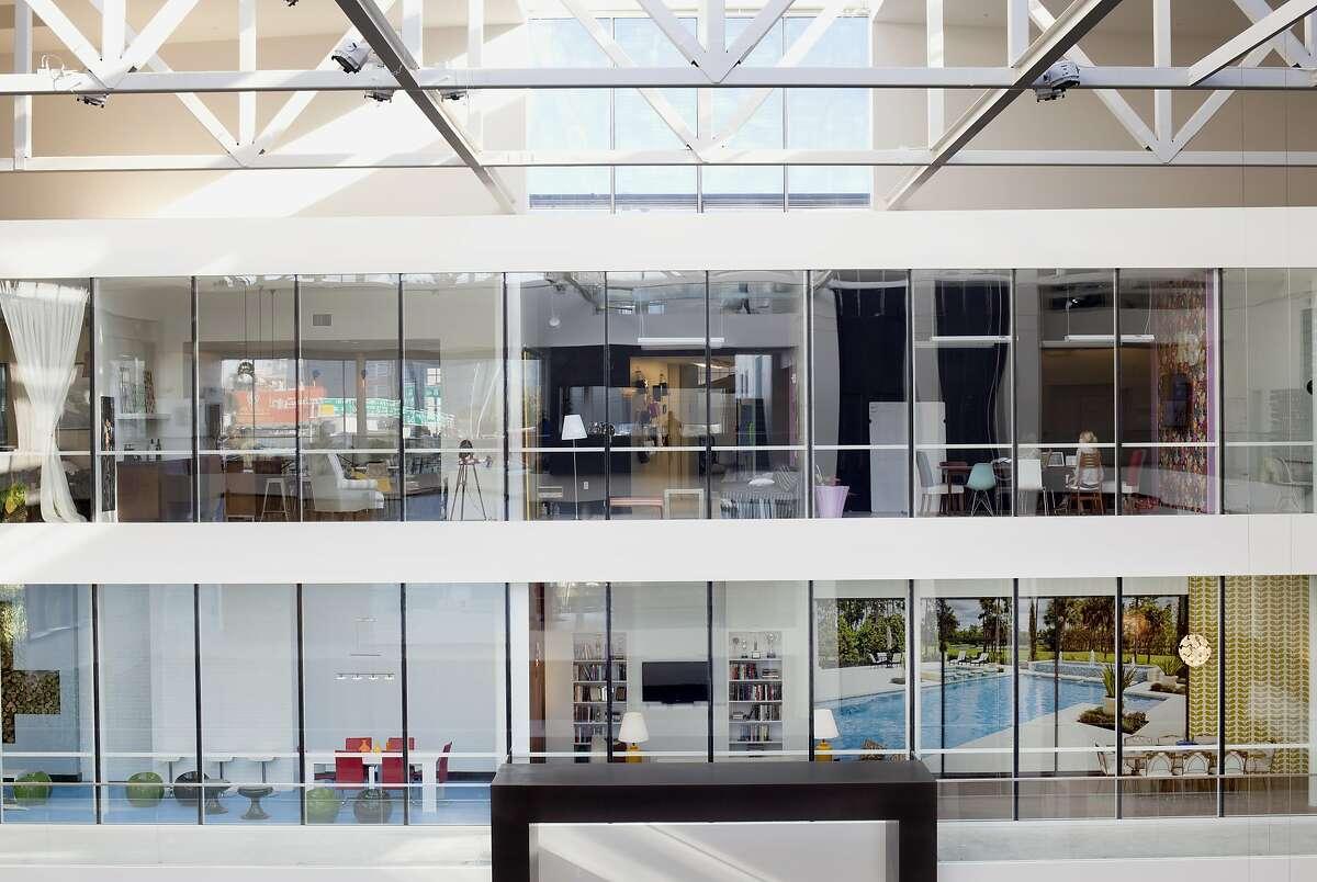The Atrium at Airbnb's San Francisco headquarters.