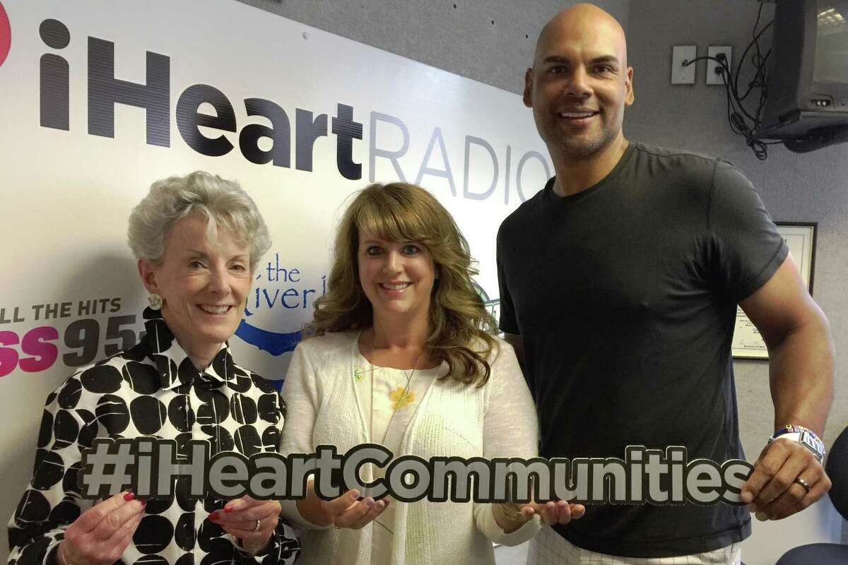 The Council of Business Partners at the Community Foundation of Middlesex County are part of a collaborative effort focused on making every community in Middlesex County and beyond a bully-free one. From left are Cynthia Clegg, president of the Community Foundation of Middlesex County, former UConn/NBA star Donny Marshall and iHeart Radio's Renee DiNino.