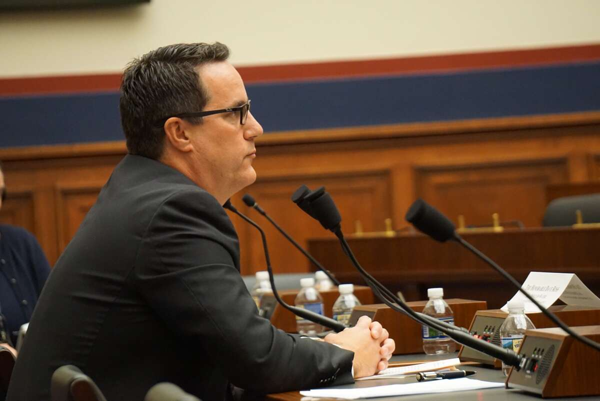 David Ross, assistant administrator of the U.S. Environmental Protection Agency's Office of Water testified before the U.S. House of Representatives Transportation Committee's Water Resources and Environment Subcommittee at the U.S. Capitol in Washington, D.C., on Wednesday September 18, 2019.