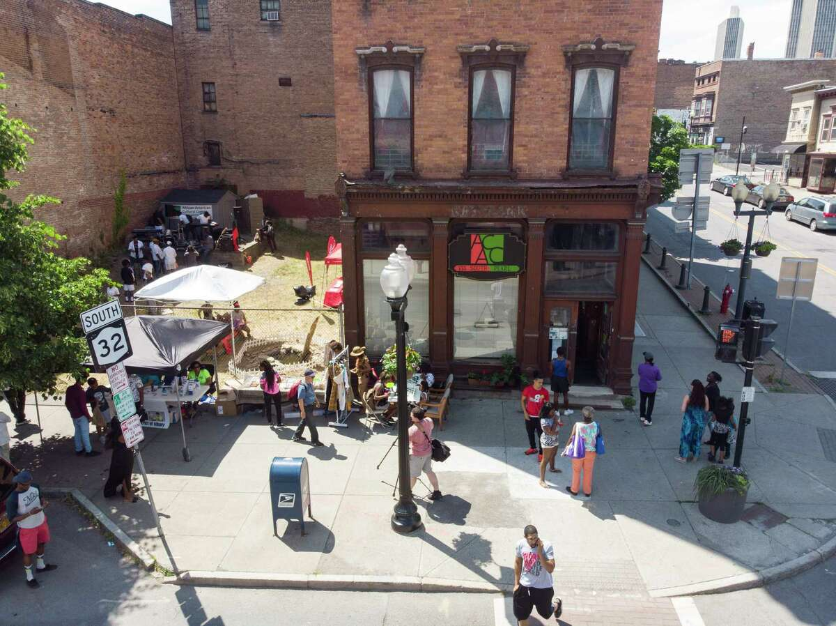 The African American Cultural Center of the Capital Region (photo courtesy Travon Jackson)