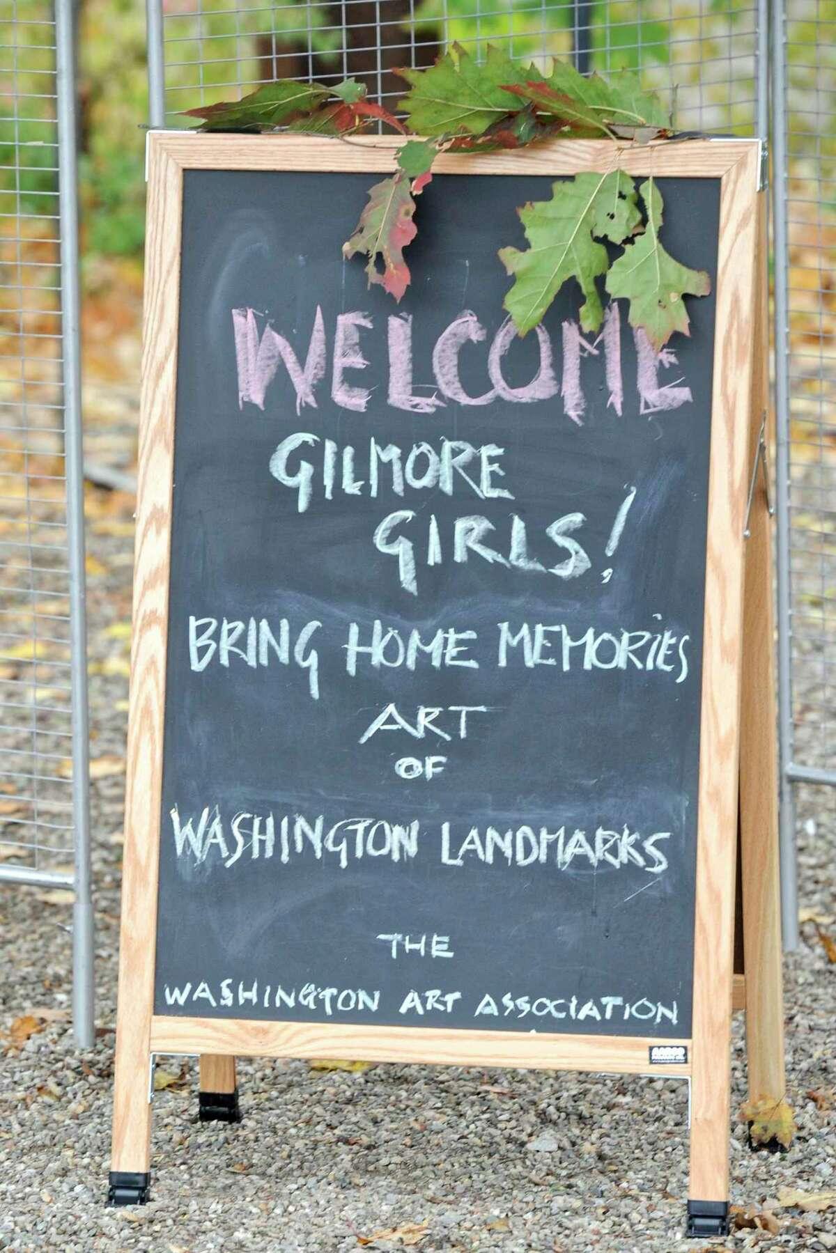 Gilmore Girls Fan Fest in Washington Depot, Conn, on Saturday, October 22, 2016.