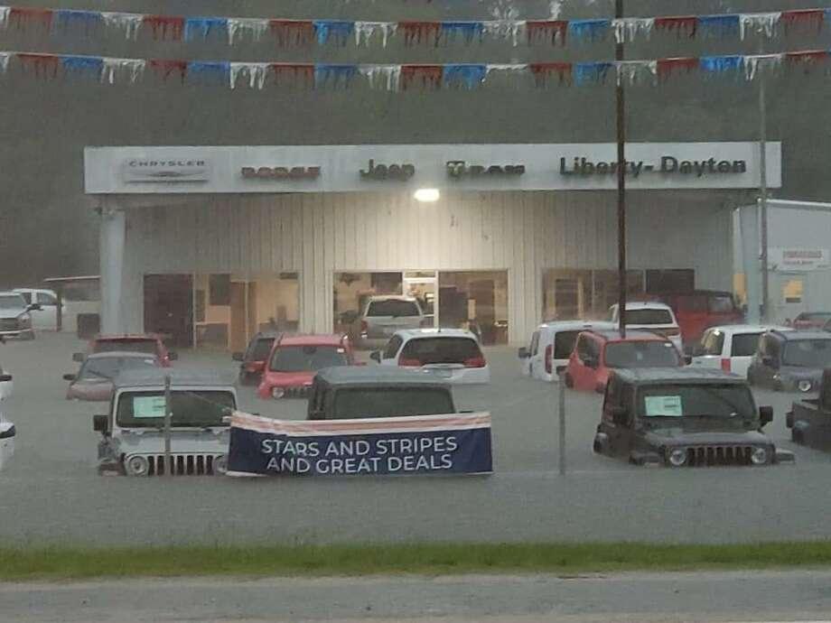 Liberty-Dayton Ford on 146 in Liberty. Courtesy: Jennifer Richardson Photo: Courtesy: Commissioner Greg Arthur