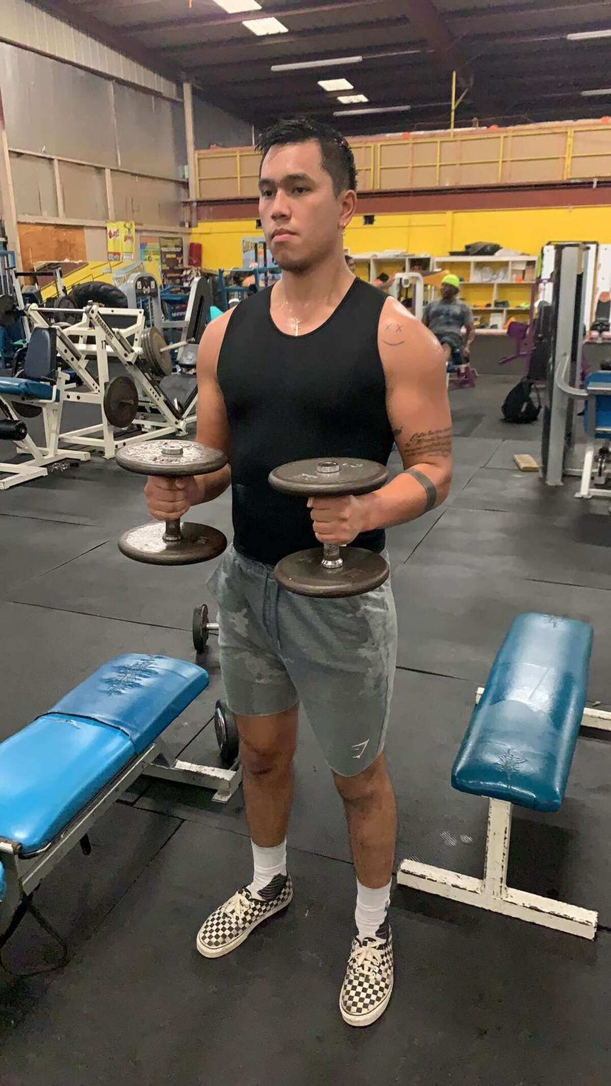 Joshua Dang at Iron Body Gym