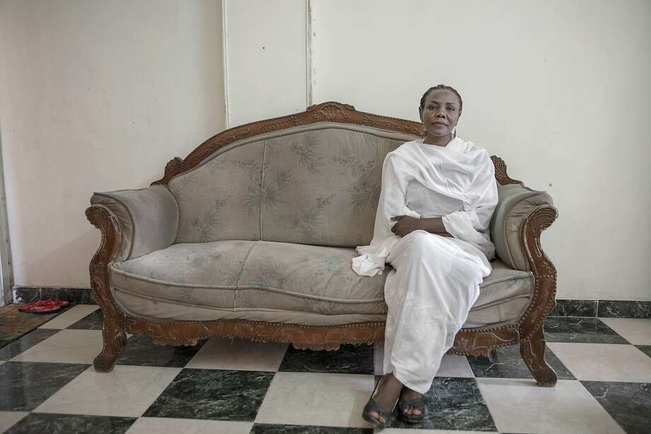 Khalda Saber was one thousands of Sudanese women who risked their lives leading protests that eventually pushed the military to overthrow autocratic President Omar el-Bashir in April. Photo: Nariman El-Mofty / Associated Press